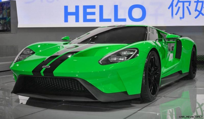2017 Ford GT - Digital Color Visualizer 18