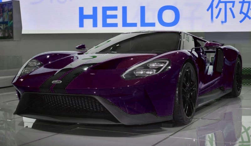 2017 Ford GT - Digital Color Visualizer 23