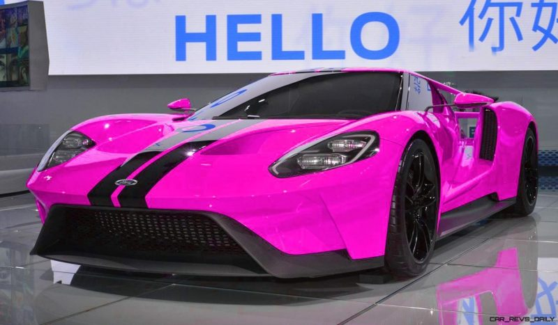 2017 Ford GT - Digital Color Visualizer 26