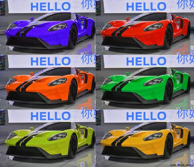 2017 Ford GT - Digital Color Visualizer 28-tile