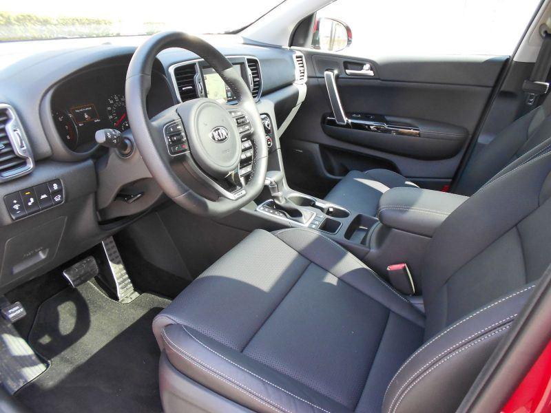 2017 Kia Sportage SX FWD 15