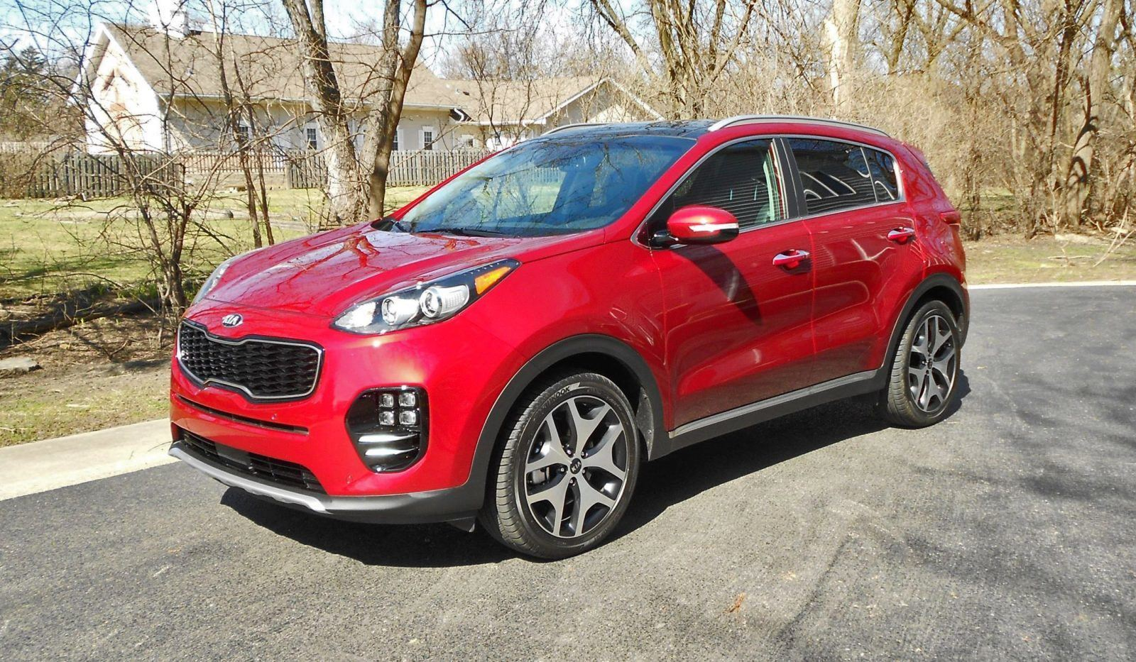 road test review 2017 kia sportage sx fwd by ken hawkeye glassman. Black Bedroom Furniture Sets. Home Design Ideas