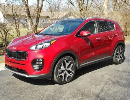 "Road Test Review – 2017 Kia Sportage SX FWD – By Ken ""Hawkeye"" Glassman"