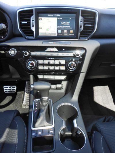 2017 Kia Sportage SX FWD 9