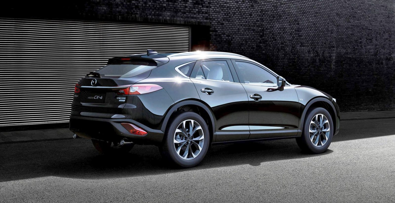 beijing debuts 2017 mazda cx 4 is new crossover coupe for china. Black Bedroom Furniture Sets. Home Design Ideas