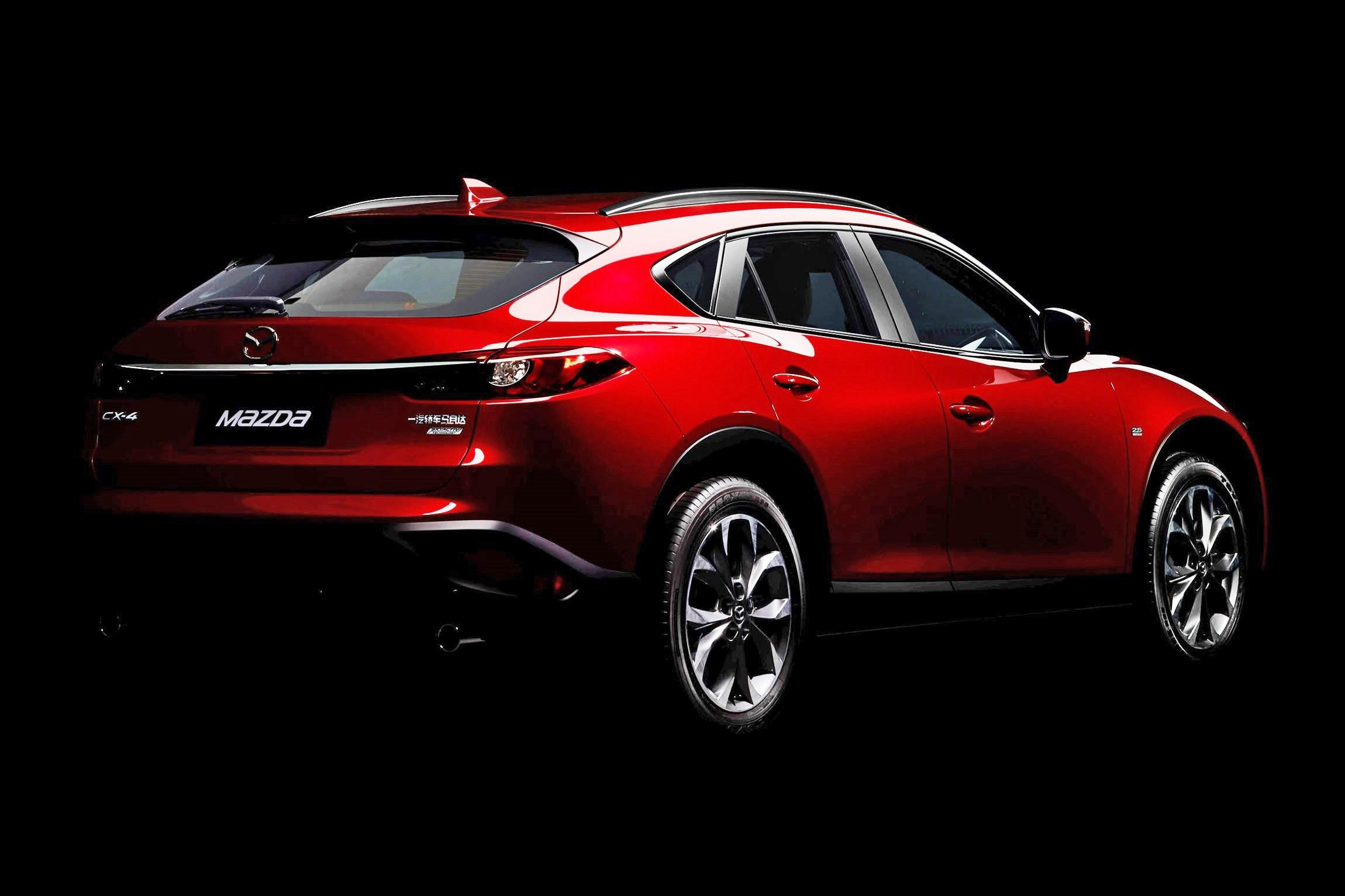 beijing debuts 2017 mazda cx 4 is new crossover coupe. Black Bedroom Furniture Sets. Home Design Ideas