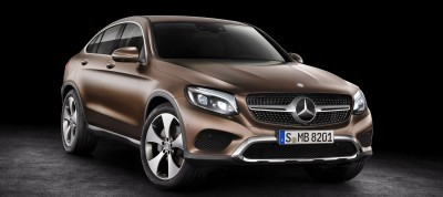 2017 Mercedes-Benz GLC Coupe 1