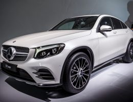 Fresh Metal! 2017 Mercedes-Benz GLC Coupe is New Fastback X4, Macan Rival
