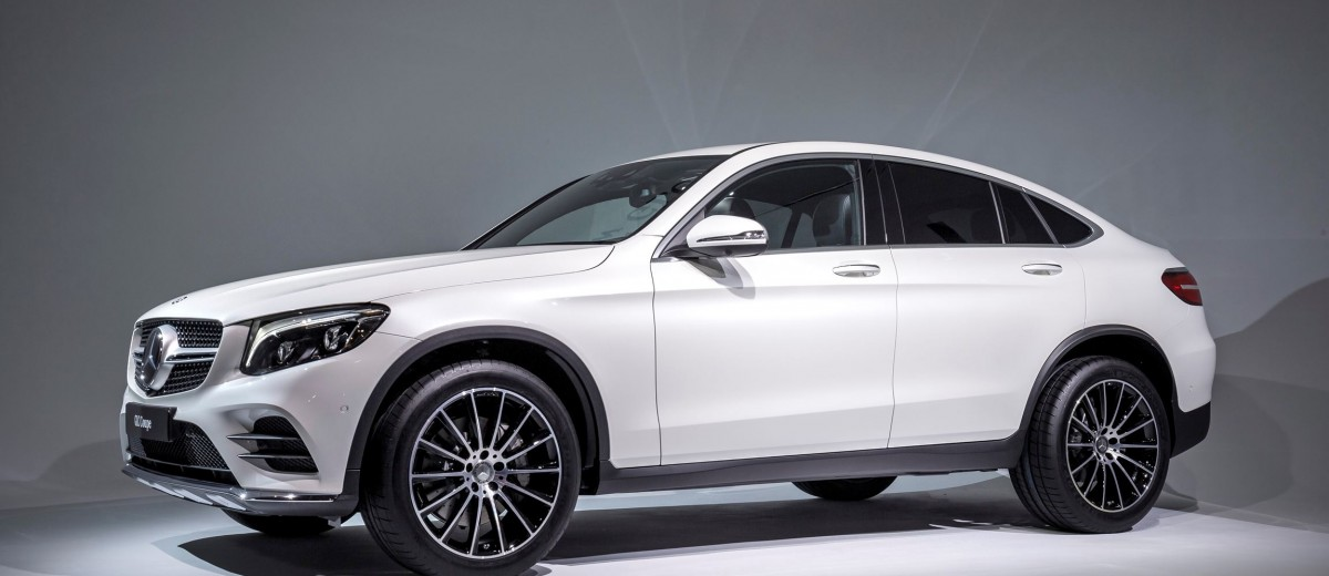 fresh metal 2017 mercedes benz glc coupe is new fastback. Black Bedroom Furniture Sets. Home Design Ideas