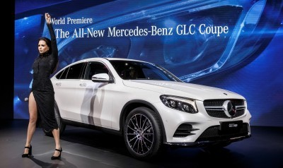 2017 Mercedes-Benz GLC Coupe 43