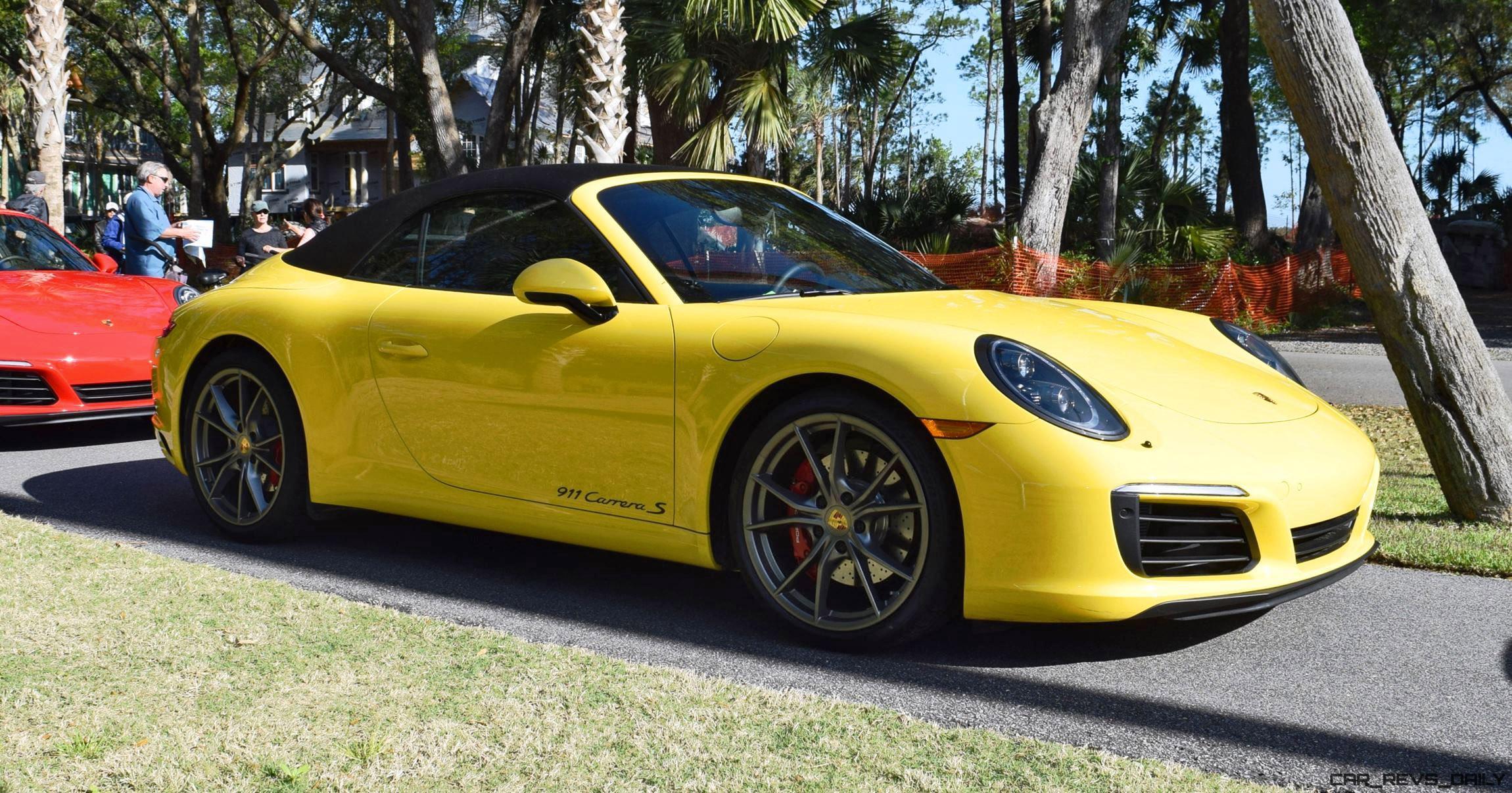 2017 porsche 911 carrera s race yellow 5. Black Bedroom Furniture Sets. Home Design Ideas