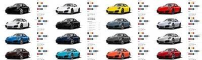 2017 Porsche 911 Carrera S - COLORS Visualizer 16-tile