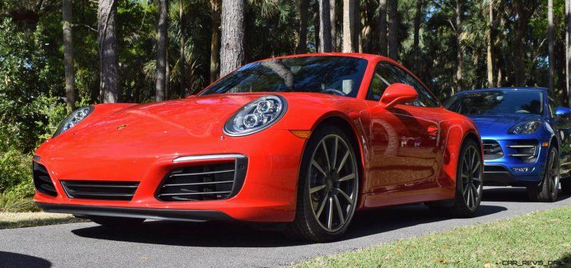2017 Porsche 911 Guard Red 2