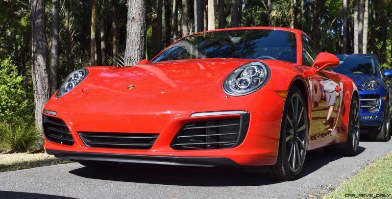 2017 Porsche 911 Guard Red 3