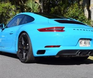 2017 Porsche 911 Carrera S First Drive In Miami Blue