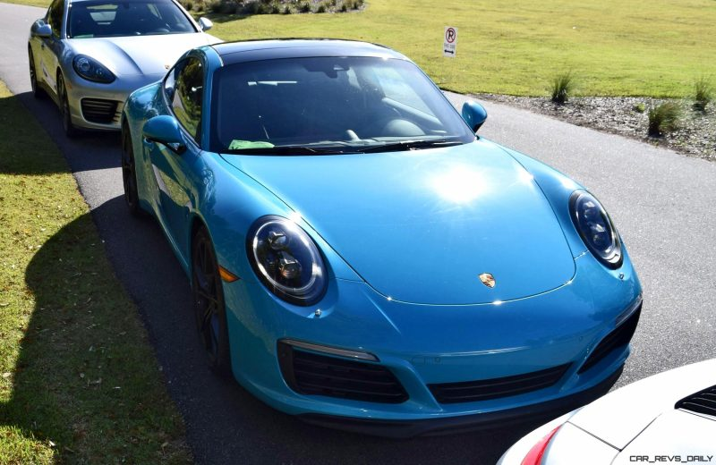 2017 Porsche 911 Miami Blue 12