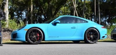 2017 Porsche 911 Miami Blue 2