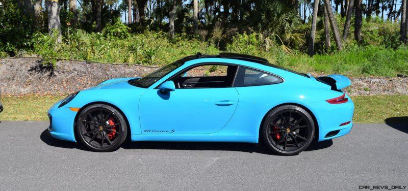 2017 Porsche 911 Miami Blue 34