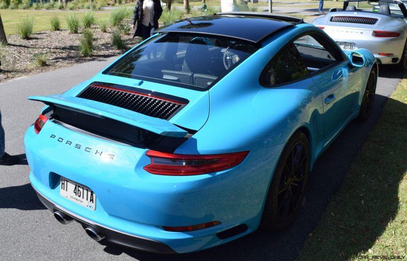2017 Porsche 911 Miami Blue 36