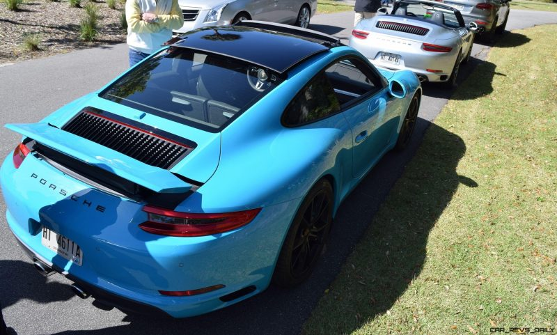 2017 Porsche 911 Miami Blue 37