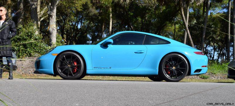 2017 Porsche 911 Miami Blue 4