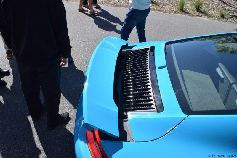 2017 Porsche 911 Miami Blue 40