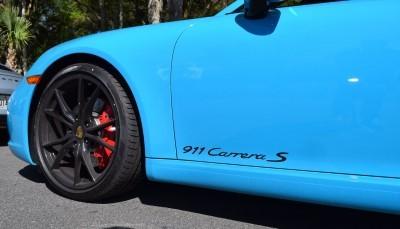 2017 Porsche 911 Miami Blue 41