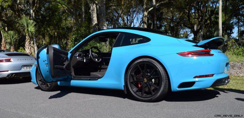 2017 Porsche 911 Miami Blue 43