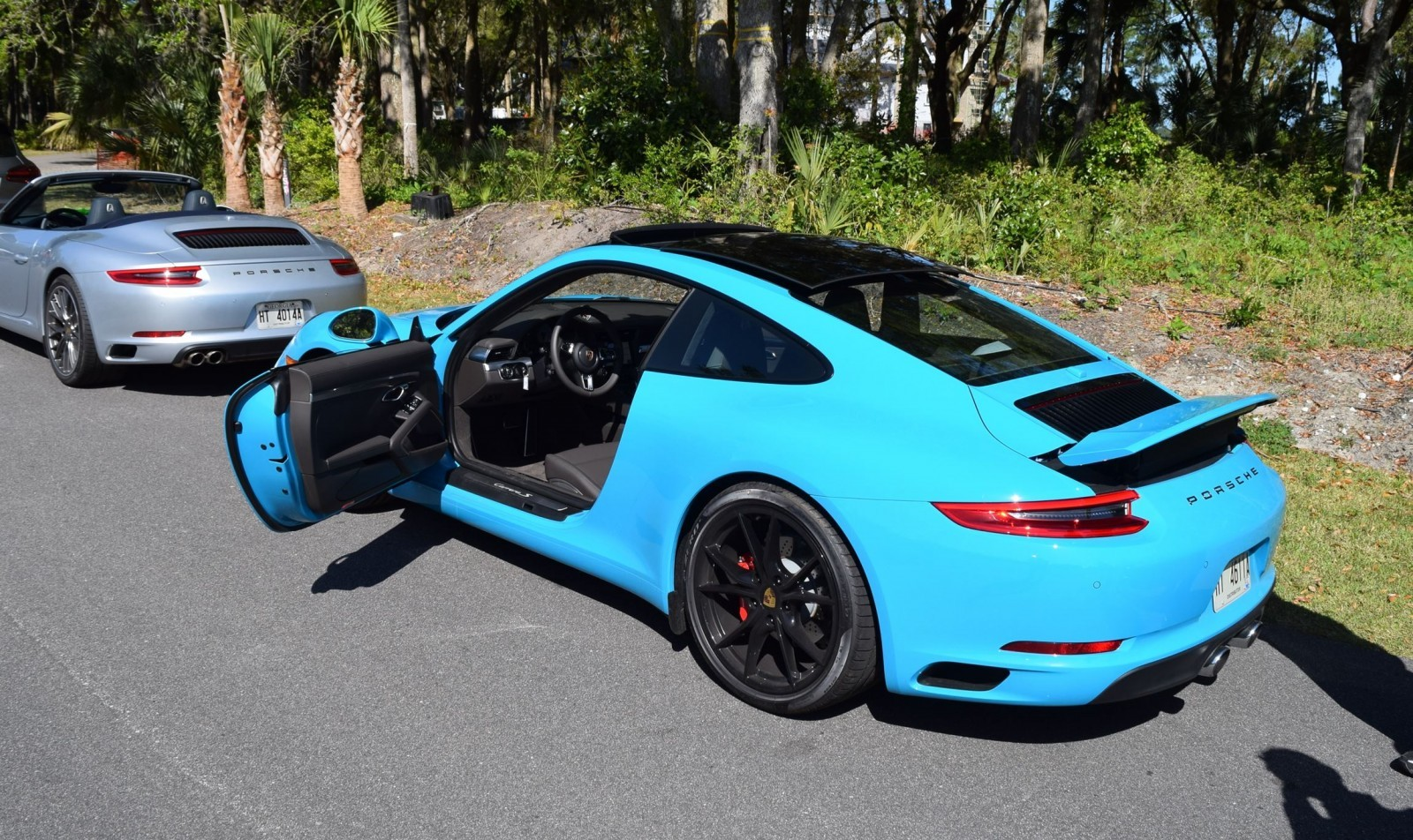2017 Porsche 911 Carrera S First Drive In Miami Blue