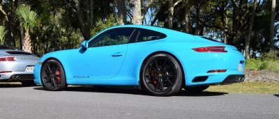 2017 Porsche 911 Miami Blue 7