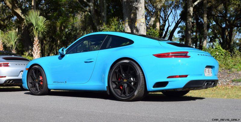 2017 Porsche 911 Miami Blue 8