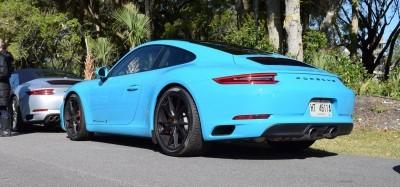 2017 Porsche 911 Miami Blue 9