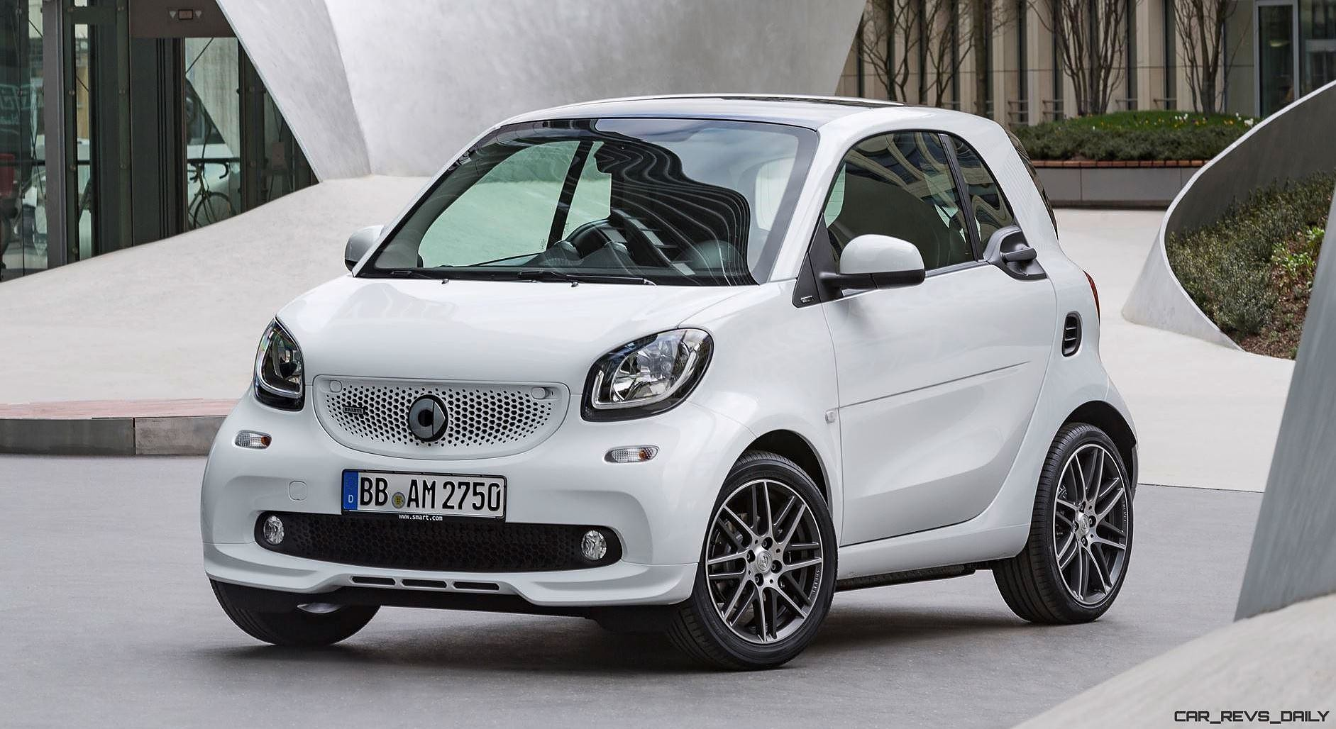 2017 smart brabus twins revealed 20 power bump quicker. Black Bedroom Furniture Sets. Home Design Ideas