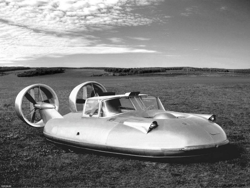 Top 7 Soviet Concept Cars - GAZ Streamliners, Armored Snowmobile, JetCar and HoverCar!