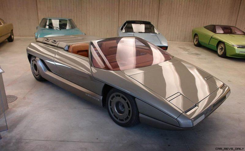 Concept Debrief - 1980 Lamborghini ATHON Speedster by Bertone 10