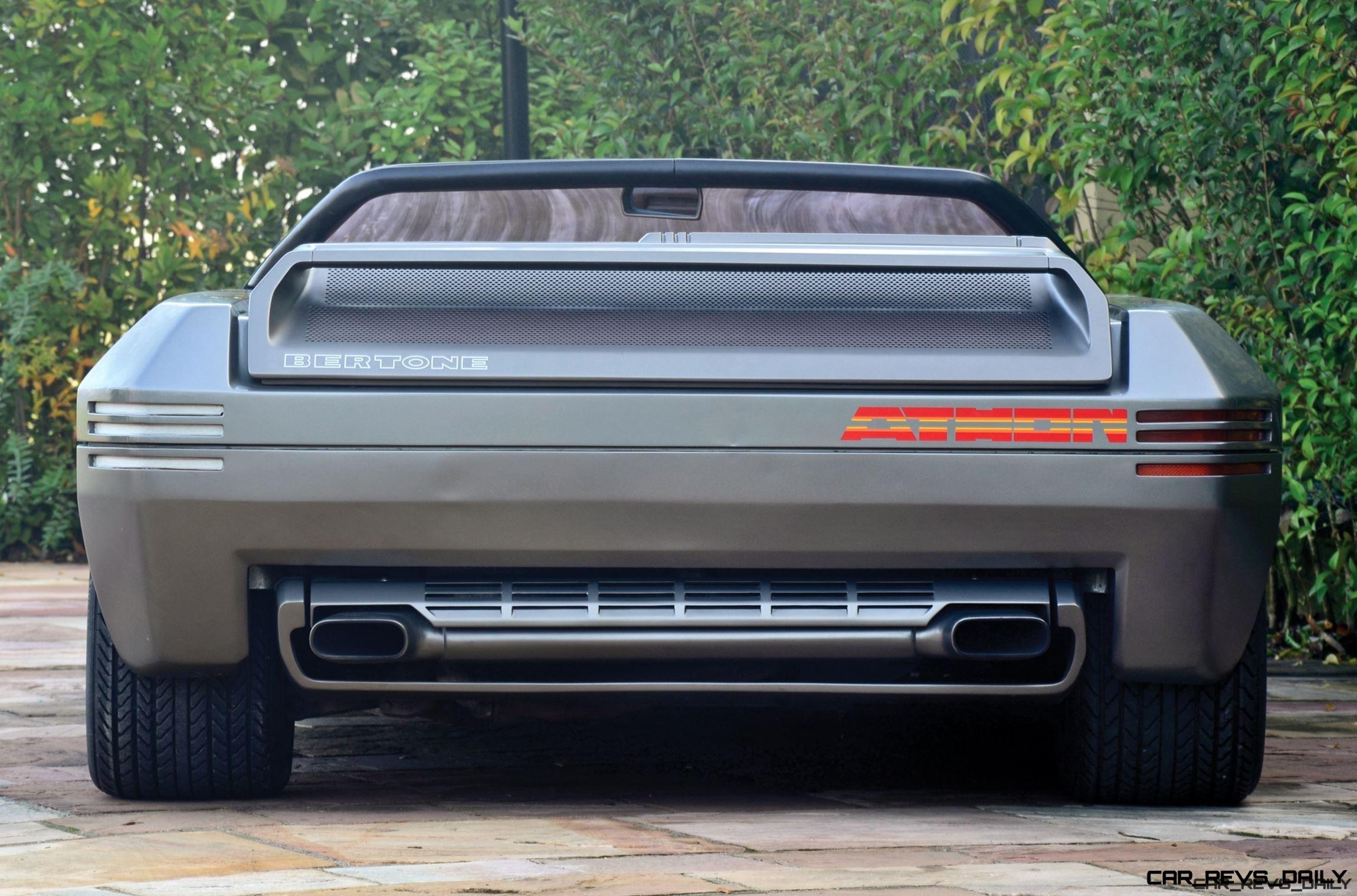 Concept Debrief - 1980 Lamborghini ATHON Speedster by Bertone 15