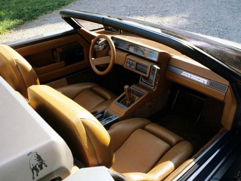 Concept Debrief - 1980 Lamborghini ATHON Speedster by Bertone 19