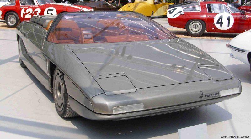 Concept Debrief - 1980 Lamborghini ATHON Speedster by Bertone 2