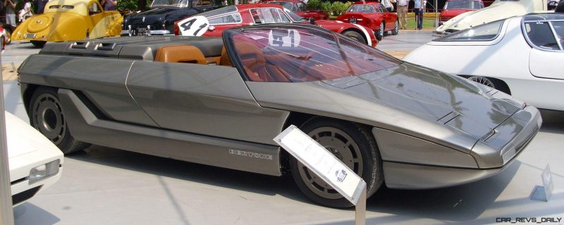 Concept Debrief - 1980 Lamborghini ATHON Speedster by Bertone 3