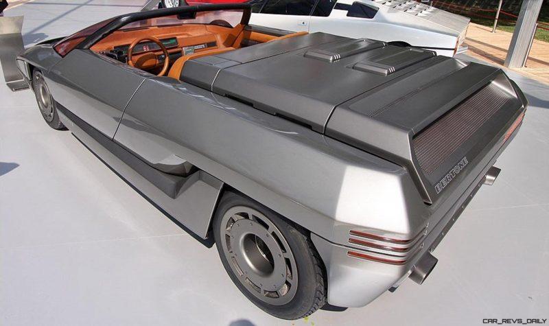 Concept Debrief - 1980 Lamborghini ATHON Speedster by Bertone 4