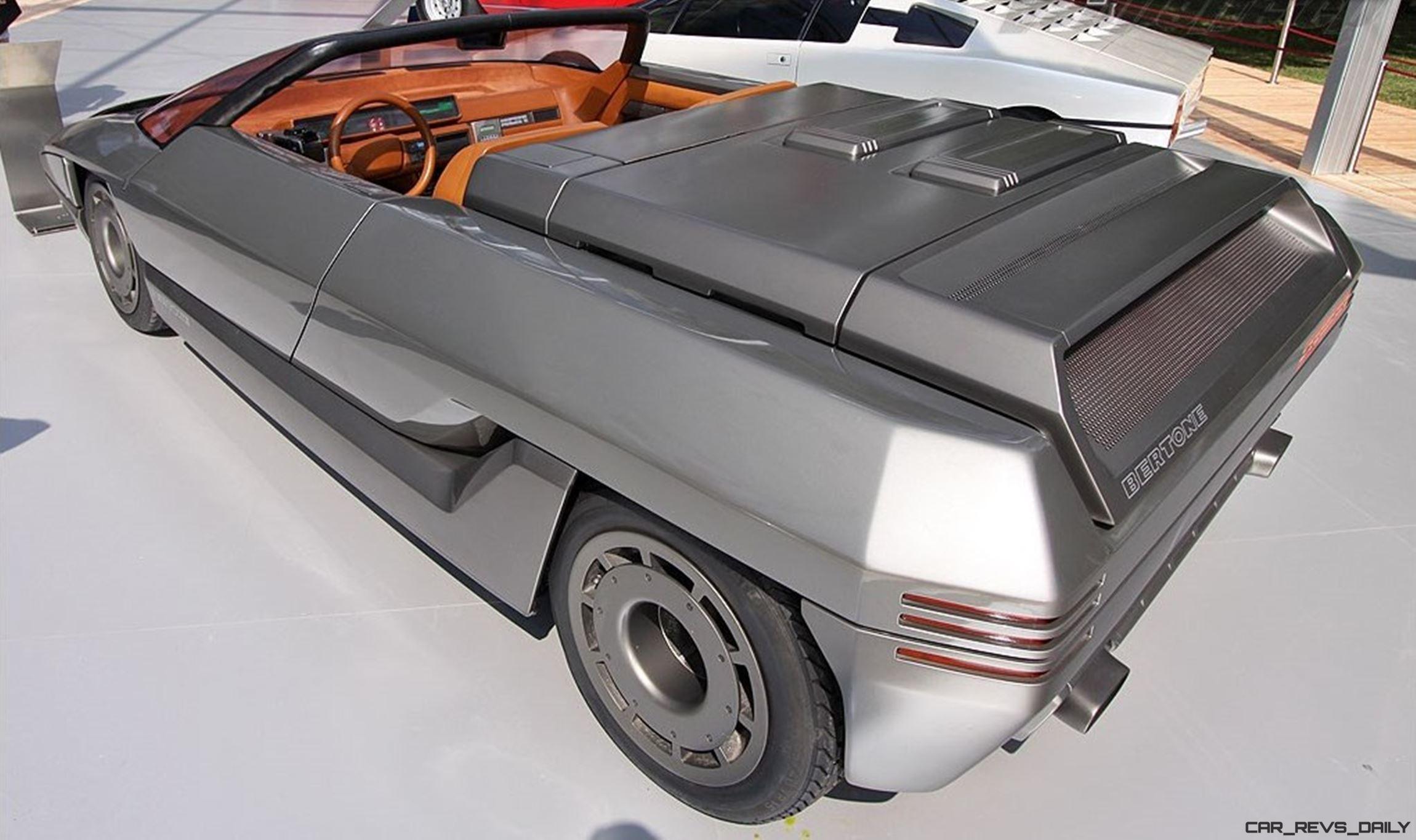 Concept Debrief 1980 Lamborghini Athon Speedster By Bertone
