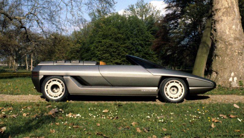 Concept Debrief - 1980 Lamborghini ATHON Speedster by Bertone 5