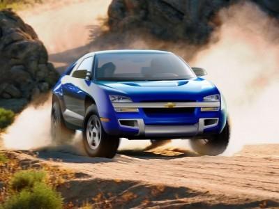 Concept Flashback - 2001 Chevrolet BORREGO Concept 1