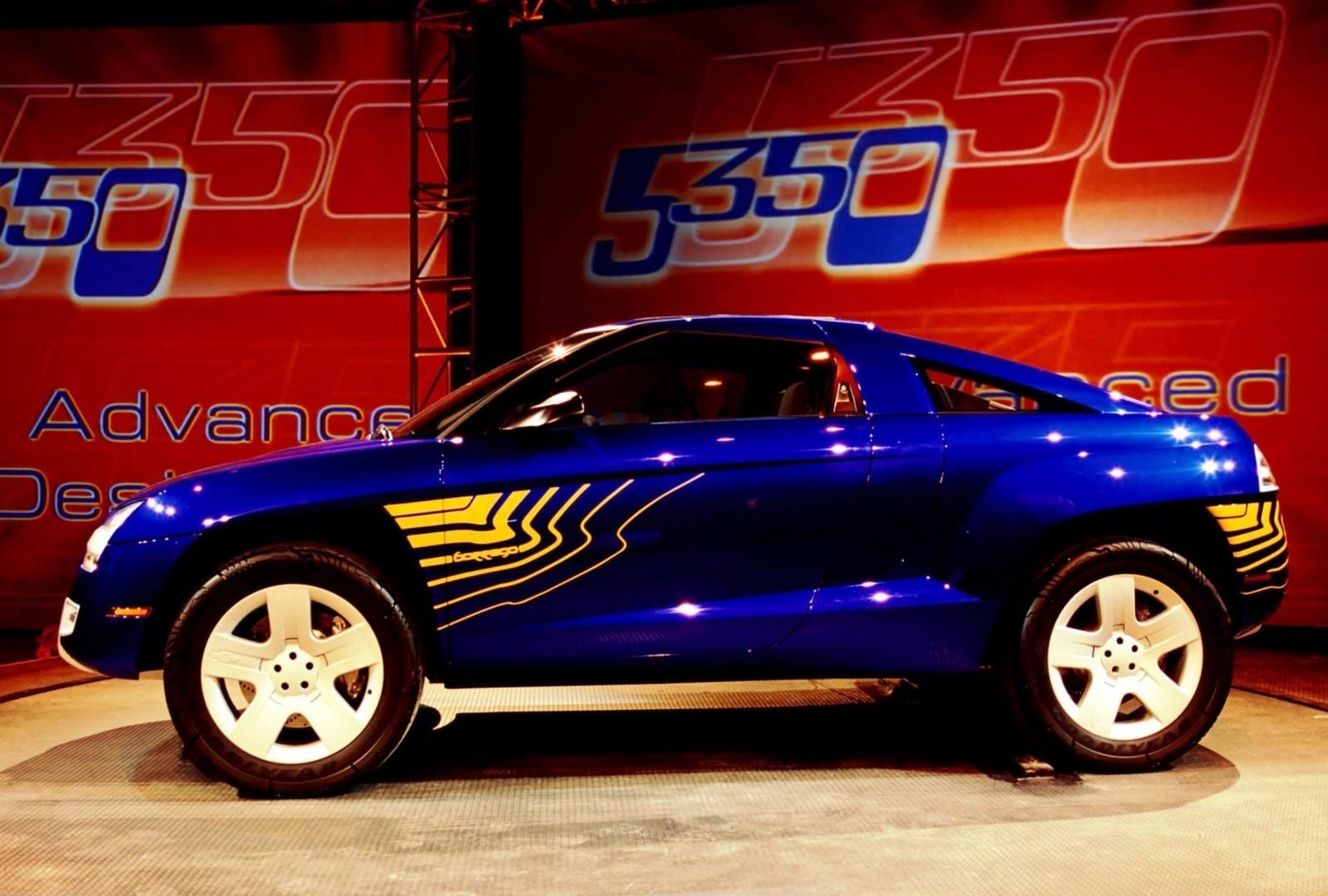 concept flashback - 2001 chevrolet borrego concept