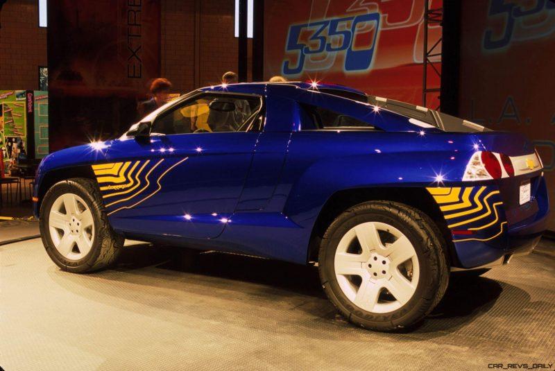 Concept Flashback - 2001 Chevrolet BORREGO Concept 13