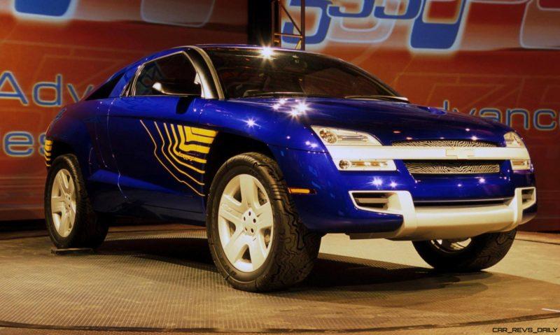 Concept Flashback - 2001 Chevrolet BORREGO Concept 15