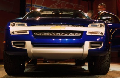 Concept Flashback - 2001 Chevrolet BORREGO Concept 16