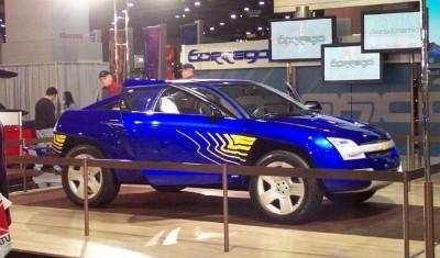Concept Flashback - 2001 Chevrolet BORREGO Concept 18