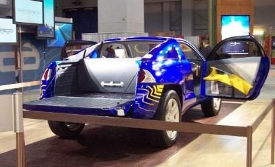 Concept Flashback - 2001 Chevrolet BORREGO Concept 19