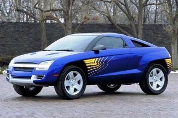 Concept Flashback - 2001 Chevrolet BORREGO Concept 2